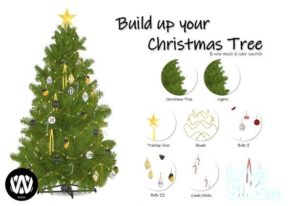 Елка Build up Christmas Tree от wondy
