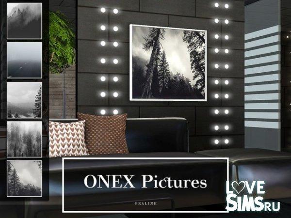 Картины ONEX от Pralinesims