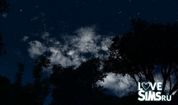 Ночное небо Milky Way Night Sky от Nilxis