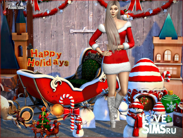 Декор Scary Christmas от JenniSims