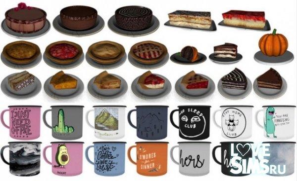 Пироги, торты и кружки от Novvvas