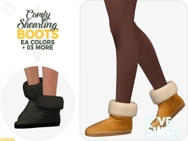 Угги Comfy Shearling Boots