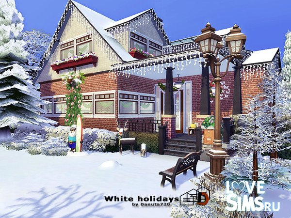 Дом White holidays от Danuta720