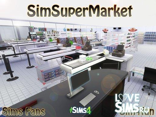 Cупермаркет от Sim4fun