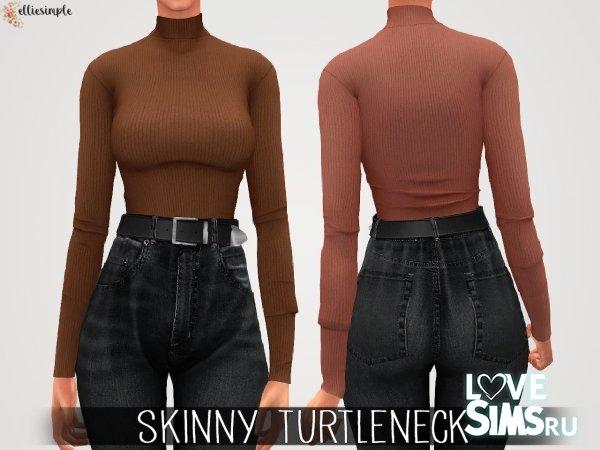 Водолазка Skinny Turtleneck от elliesimple