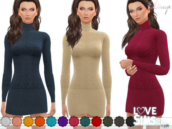 Платье Turtleneck Sweater от ekinege