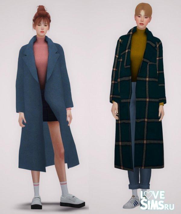 Пальто LONG COAT от BY2OL