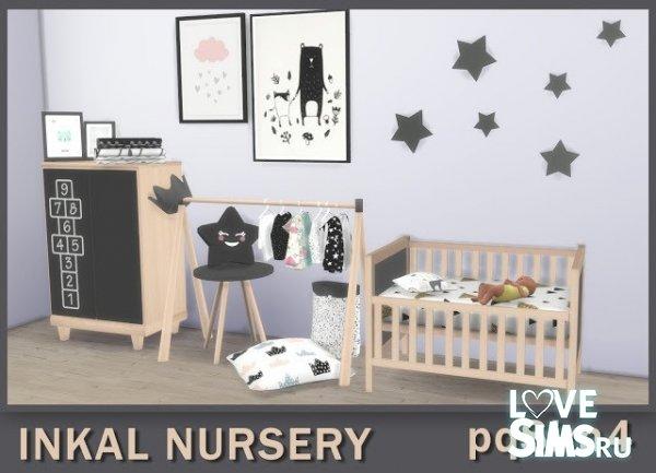 Мебель Inkal Nursery от pqSim4