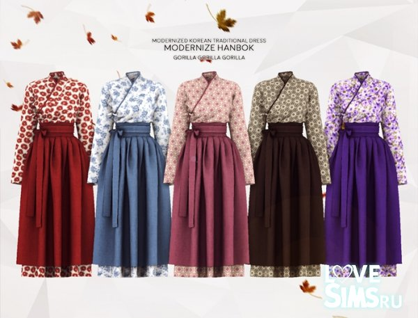 Платье KOREAN TRADITIONAL от GORILLA
