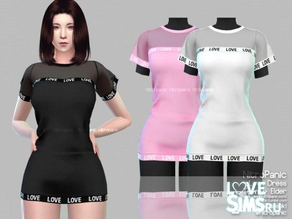 Платье Love от NitroPanic