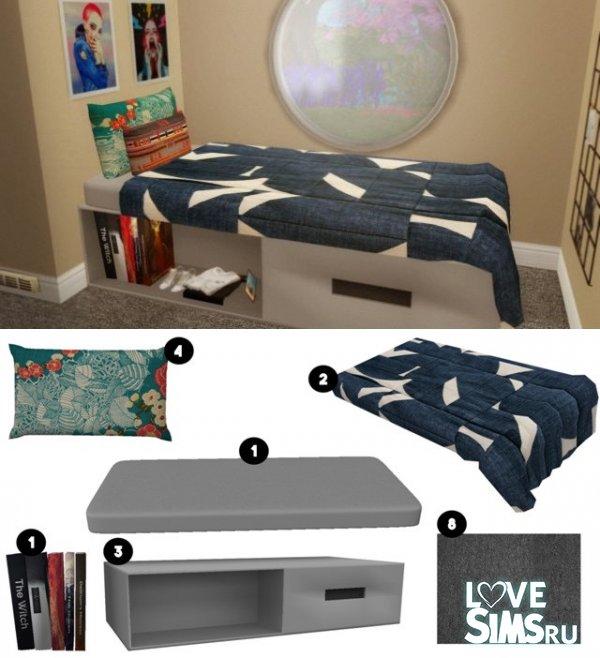 Спальня подростка Nook Bedroom