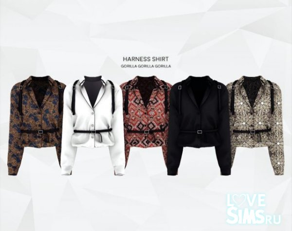 Рубашка Harness от Gorilla