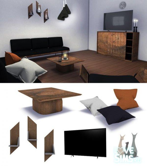 Гостиная Onyx Furniture & Decor Set Pt. 2