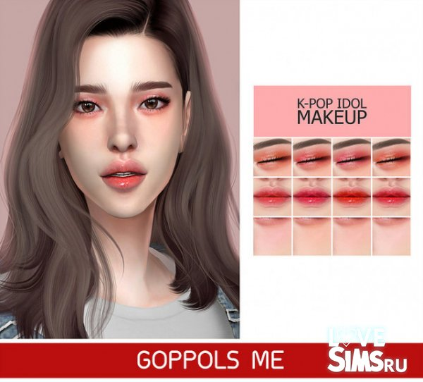Макияж Kpop Idol от GoppolsMe