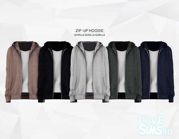 Zip-Up Hoodie от Gorilla