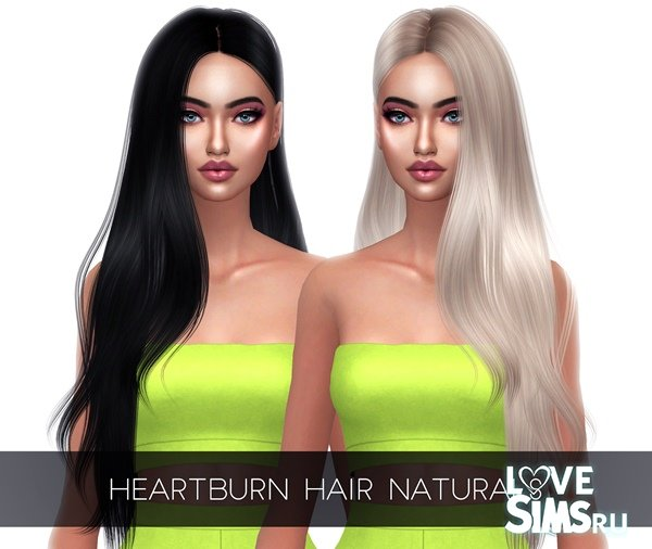 Прическа HEARTBURN HAIR от Kenzar