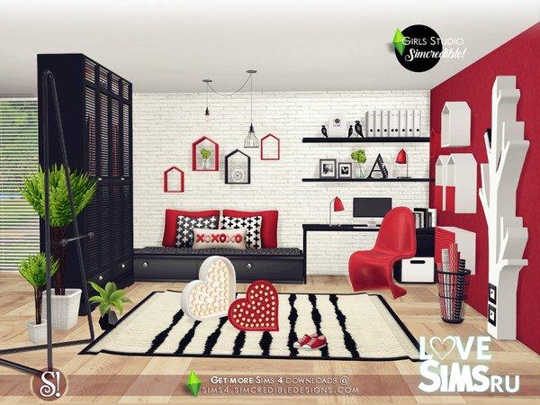 Мебель Girls Studio от SIMcredible