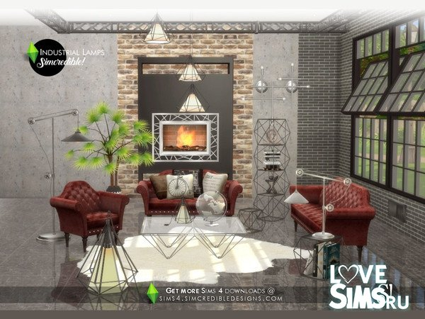 Лампы Industrial Lamps от SIMcredible