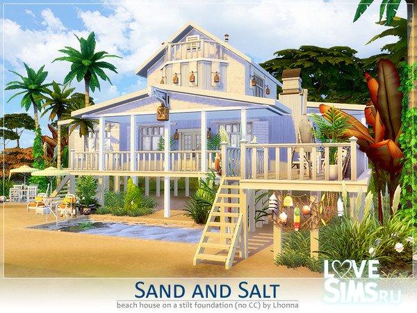 Дом Sand and Salt от Lhonna