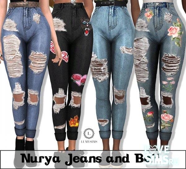 Джинсы Nurya Jeans от Lumy Sims