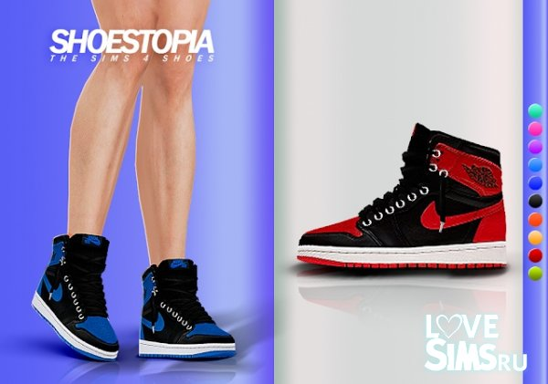 Кроссовки Hades Shoes от Shoestopia