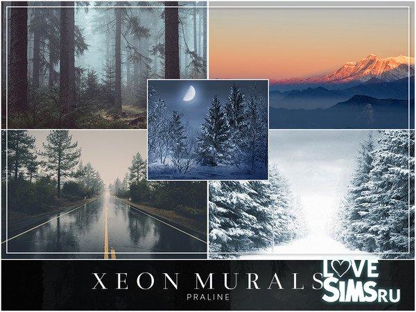 Картины XEON Murals от Pralinesims