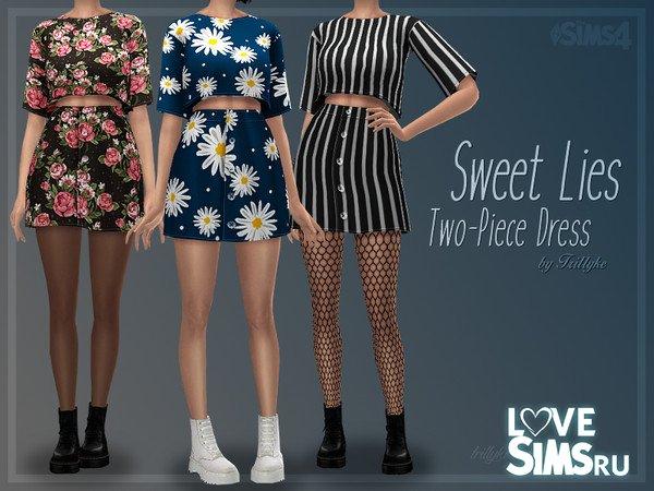 Платье Sweet Lies Two-Piece