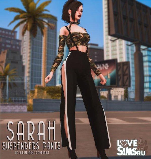 Брюки Sarah Suspenders Pants от BlueRose