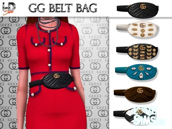 Сумка на пояс Gucci GG belt bag