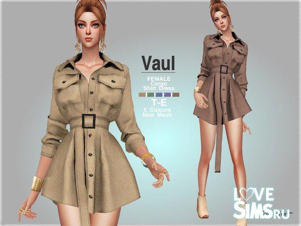 Платье VAUL - Cargo Shirt Dress