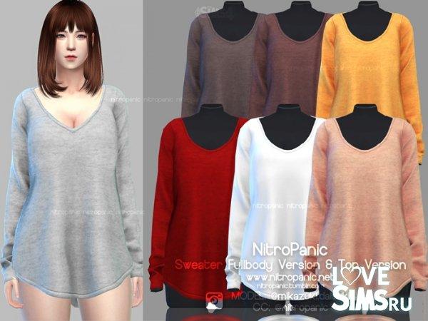 Свитер Sweater X Full Body от NitroPanic