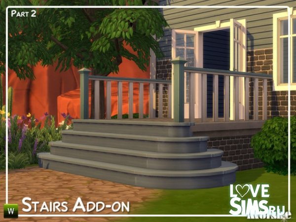 Лестницы Stairs Add-on Part 2 от mutske