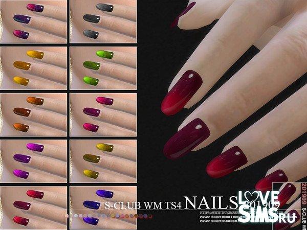 Ногти WM Nails 201909 от S-Club
