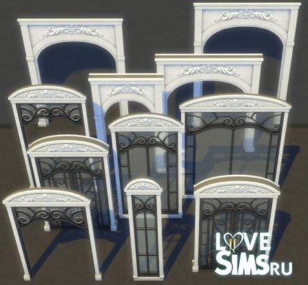 Двери и окна Upscale window door addon