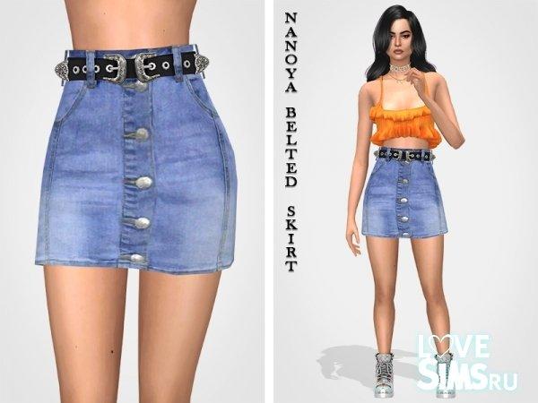Юбка Nanoya Belted Skirt