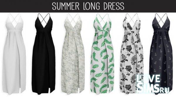 Сарафан Summer Long Dress