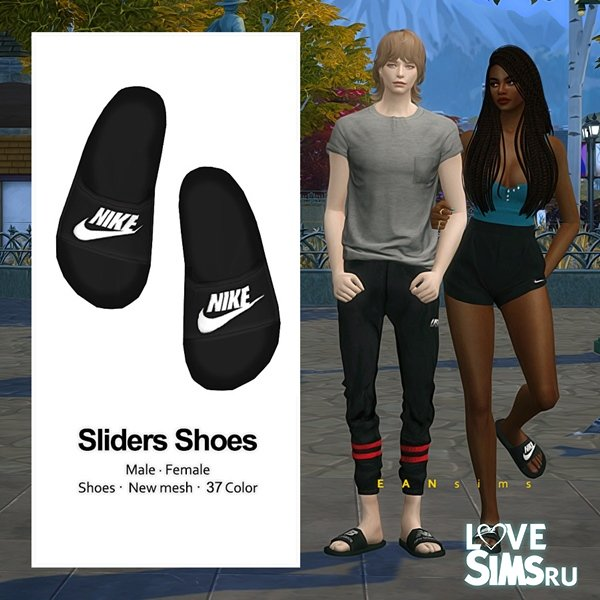 Шлепанцы Sliders Shoes