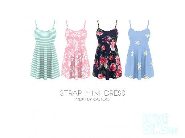 Платье STRAP от Kenzar