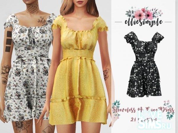 Платье Sleeveless A Line от Elliesimple
