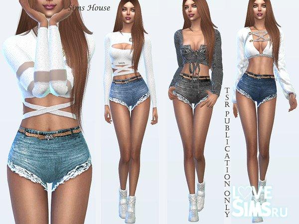 Шорты Tropics women's denim shorts