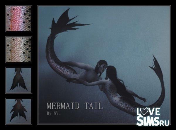 Хвост русалки MERMAID TAIL от NV