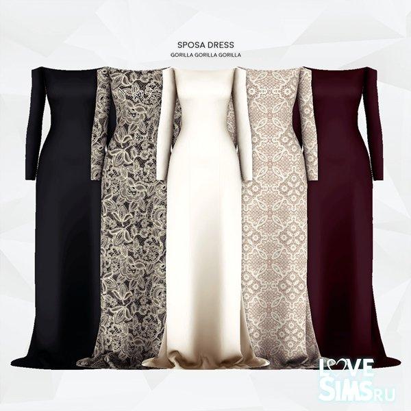 Платье Sposa от Gorilla X3