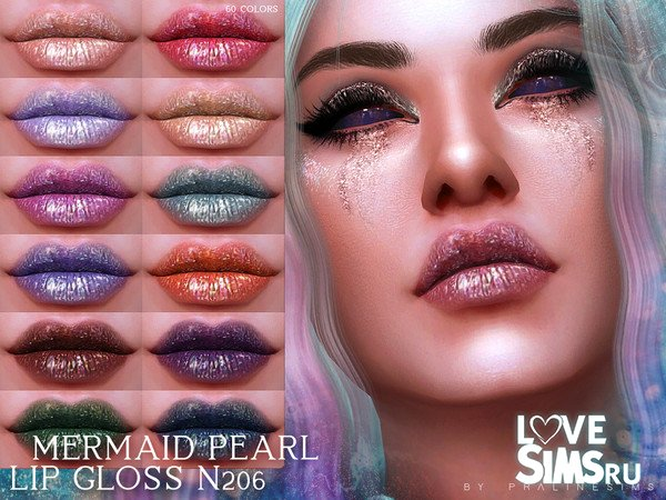 Блеск Mermaid Pearl Lip Gloss N206