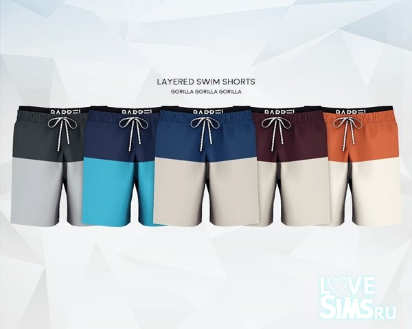 Шорты Layered Swim Shorts