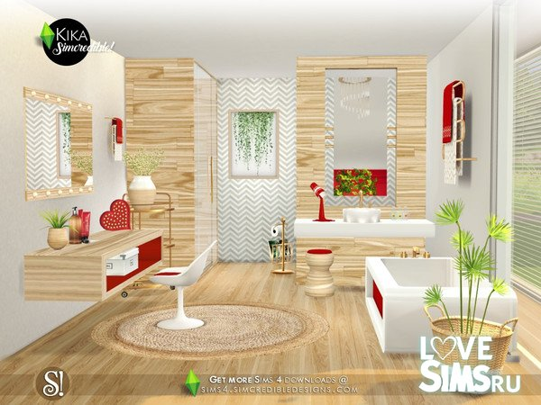 Мебель Kika от SIMcredible