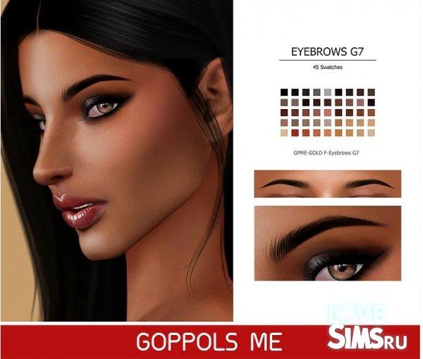 Брови F-Eyebrows G7 от GPME