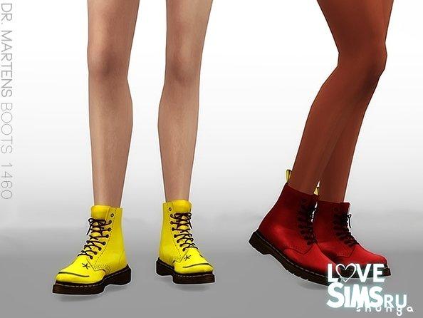 Ботинки dr. martens от shunga