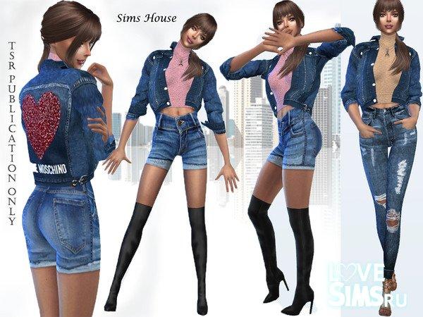 Куртка и свитер от Sims House