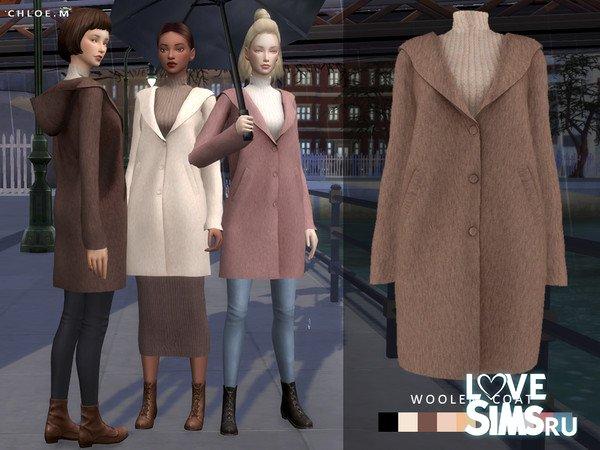 Пальто Woolen Coat