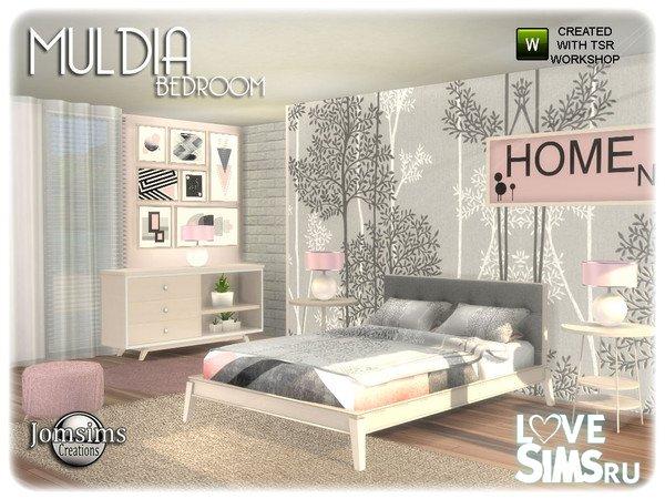 Спальня Muldia от jomsims
